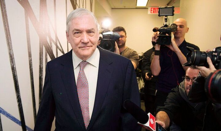 Conrad Black is seen here in Toronto on Oct. 10, 2014.