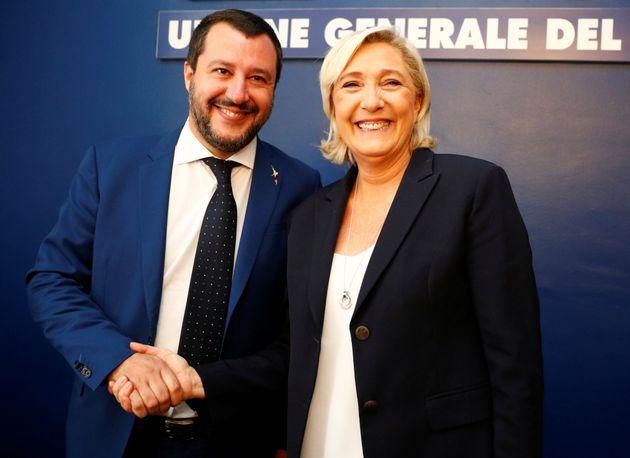 Le dangereux et comique Salvini va-t-il donner à Marine Le Pen son arme fatale