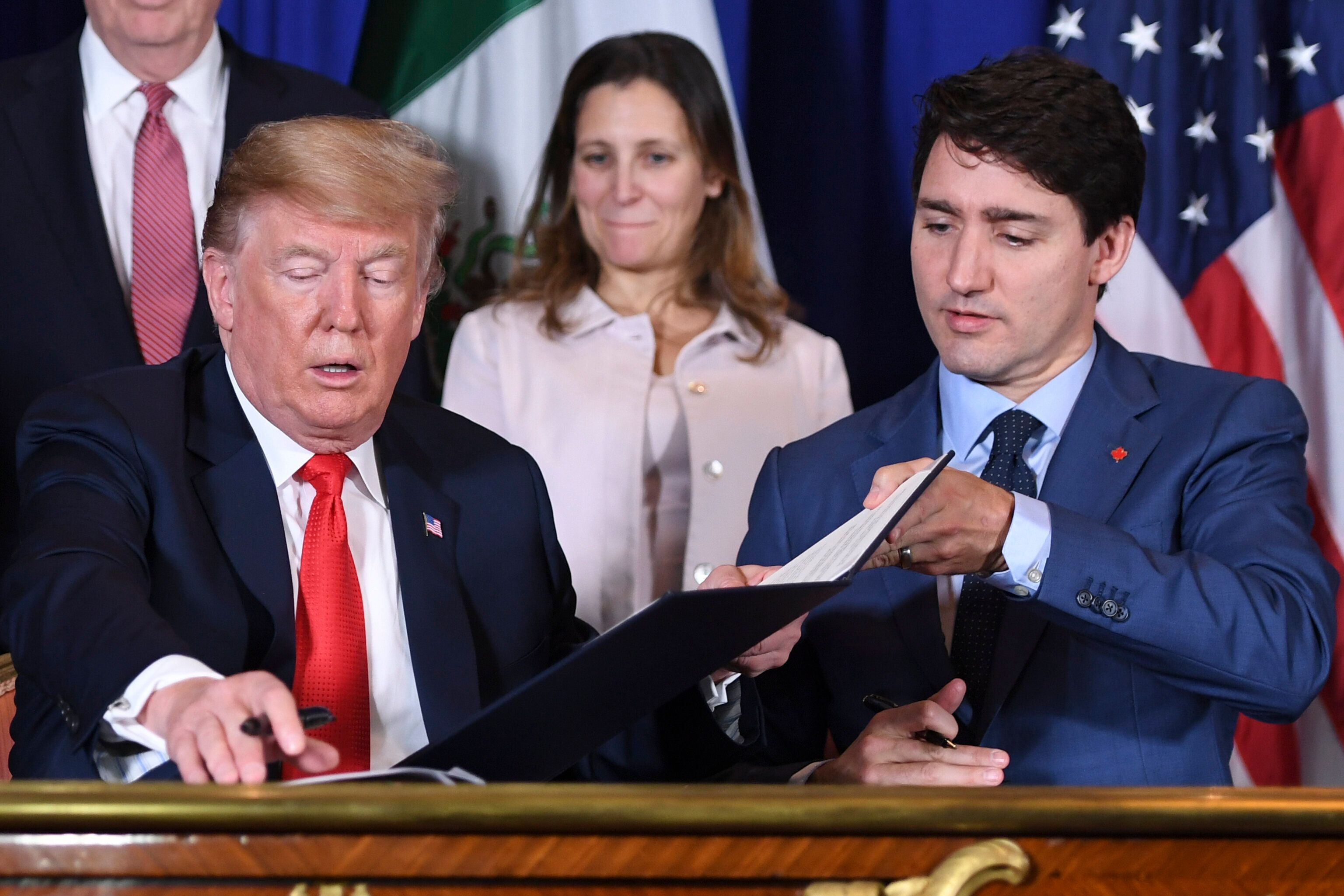 Canada, U.S. Reach Deal To Drop Tariffs On Steel And