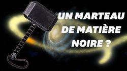 Un marteau de matière noire pourrait être en train de percer des trous dans notre
