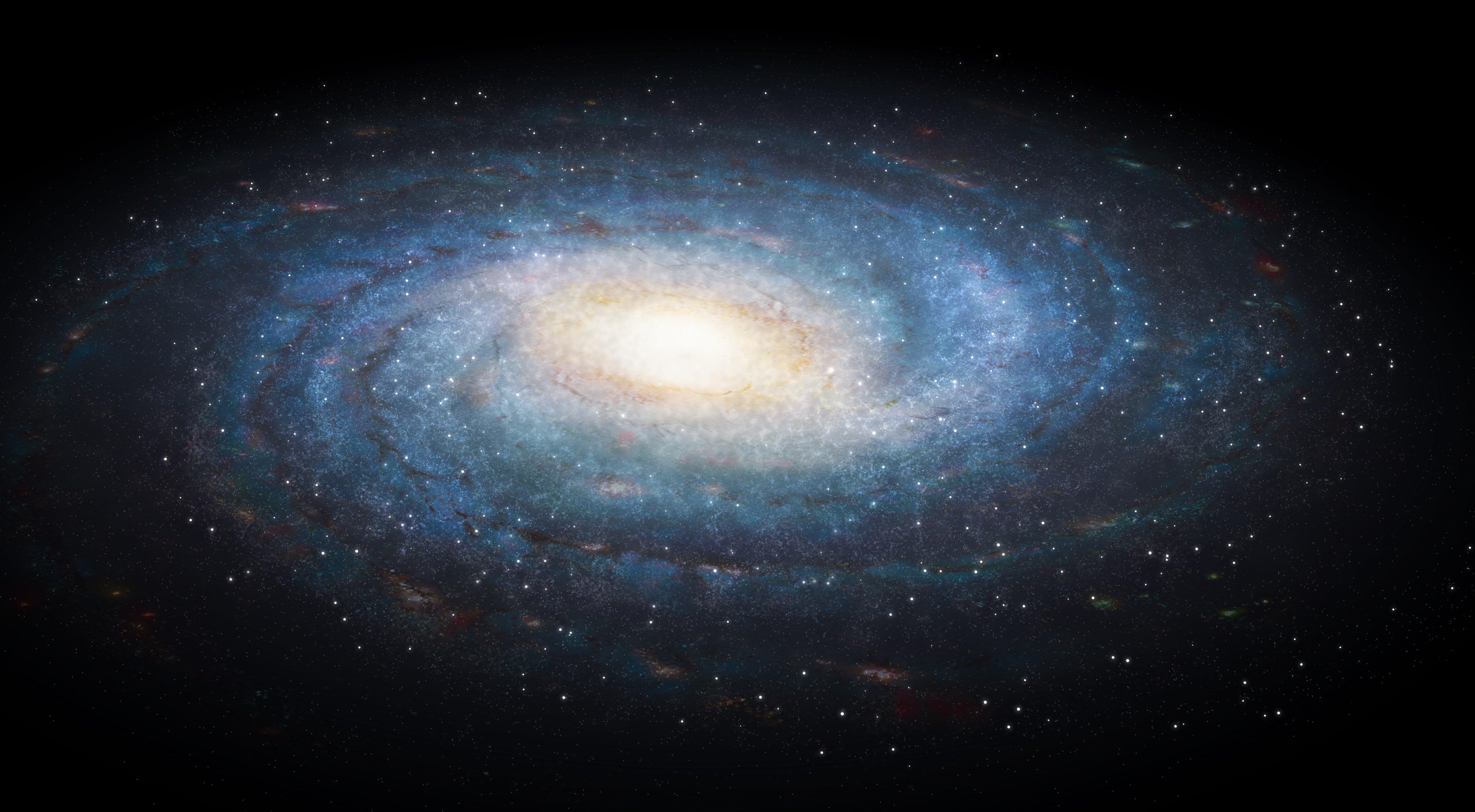 Il y aurait un trou dans la galaxie à cause de la matière