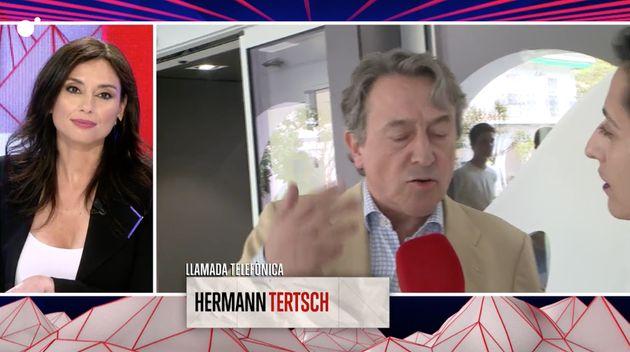 Encontronazo de Hermann Tertsch, de Vox, con 'Todo es mentira' (Cuatro):