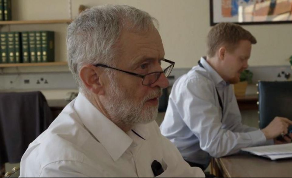 Jeremy Corbyn and chief of staff Andrew