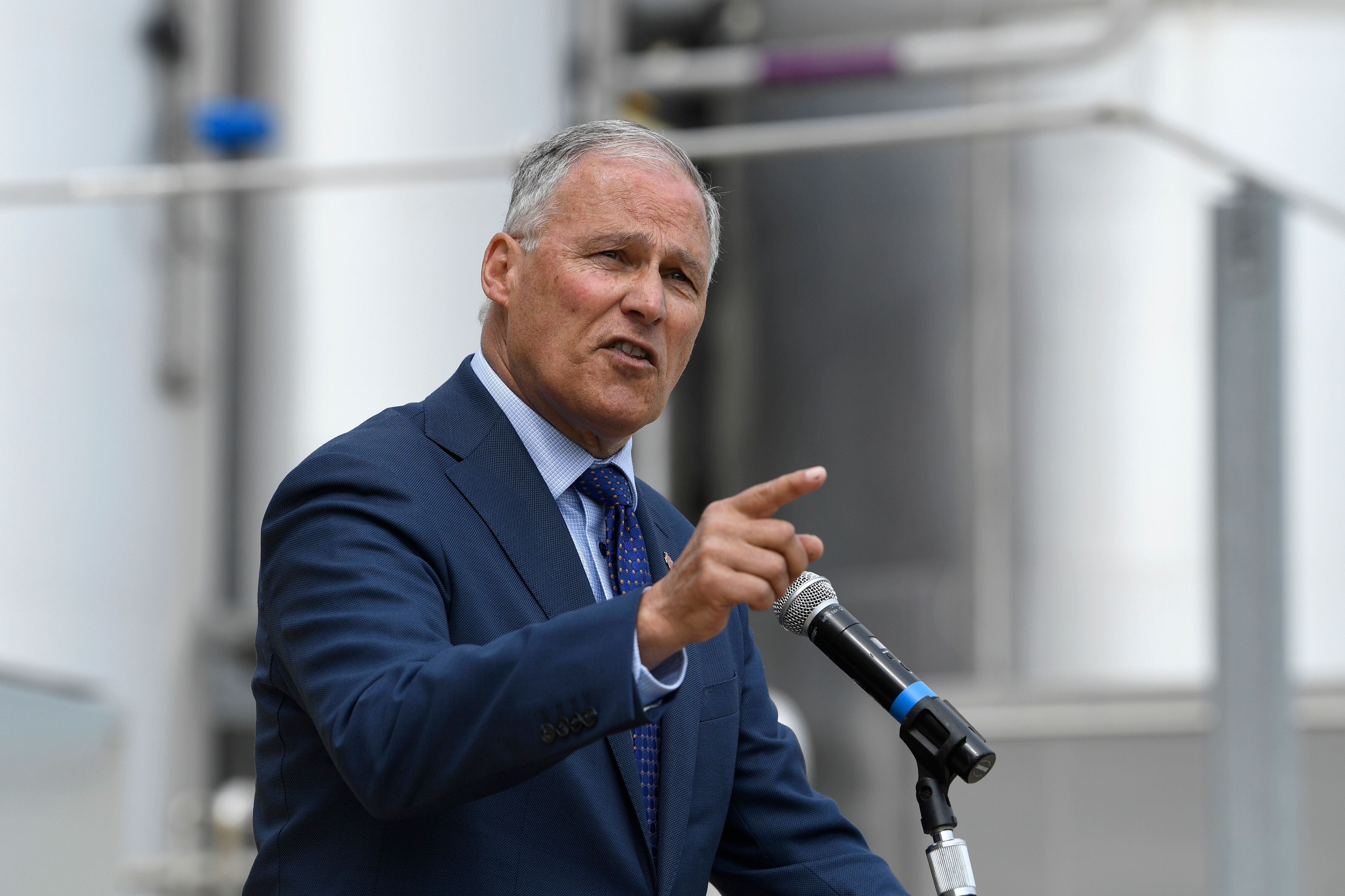 Jay Inslee Calls For Accepting 'Historic Levels' Of Refugees Amid Climate Crisis