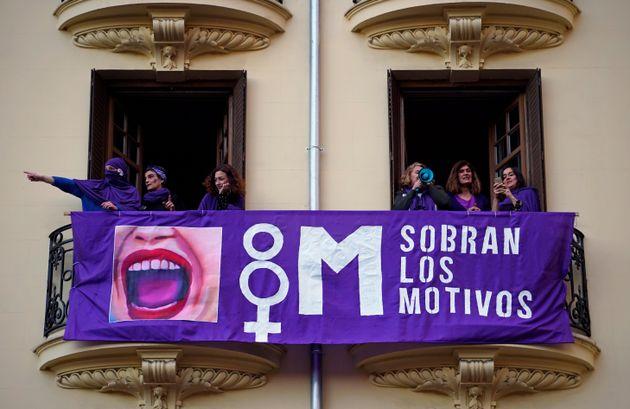 Manifestación del pasado 8 de marzo de 2019 en Madrid, en el Día de la