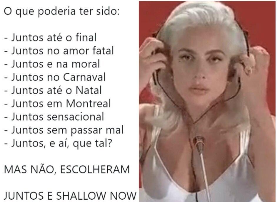 13 reações sinceras à versão de Paula Fernandes para 'Shallow', de Lady