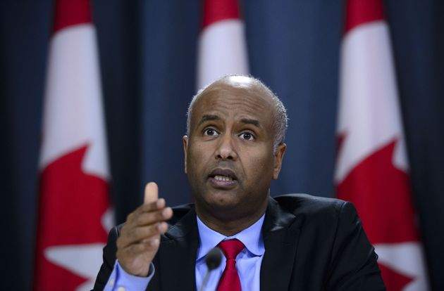 Minister of Immigration, Refugees and Citizenship Ahmed Hussen responds to the 2019 Spring Reports of...