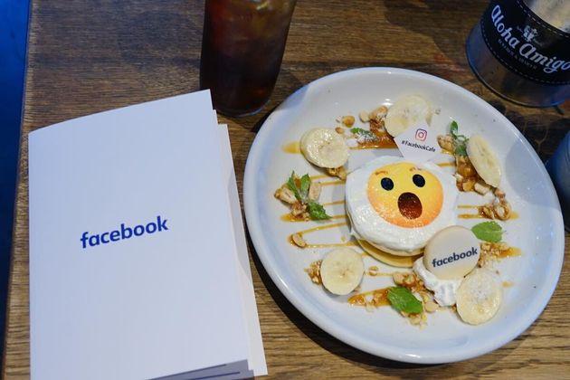 原宿の「Facebook