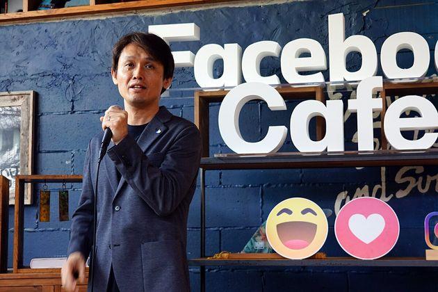 ▲Facebook Japan 公共政策統括 小堀恭志氏