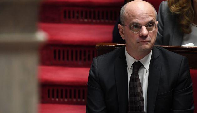 Jean-Michel Blanquer, ici à l'Assemblée nationale le 30 janvier, ne s'est pas opposé...