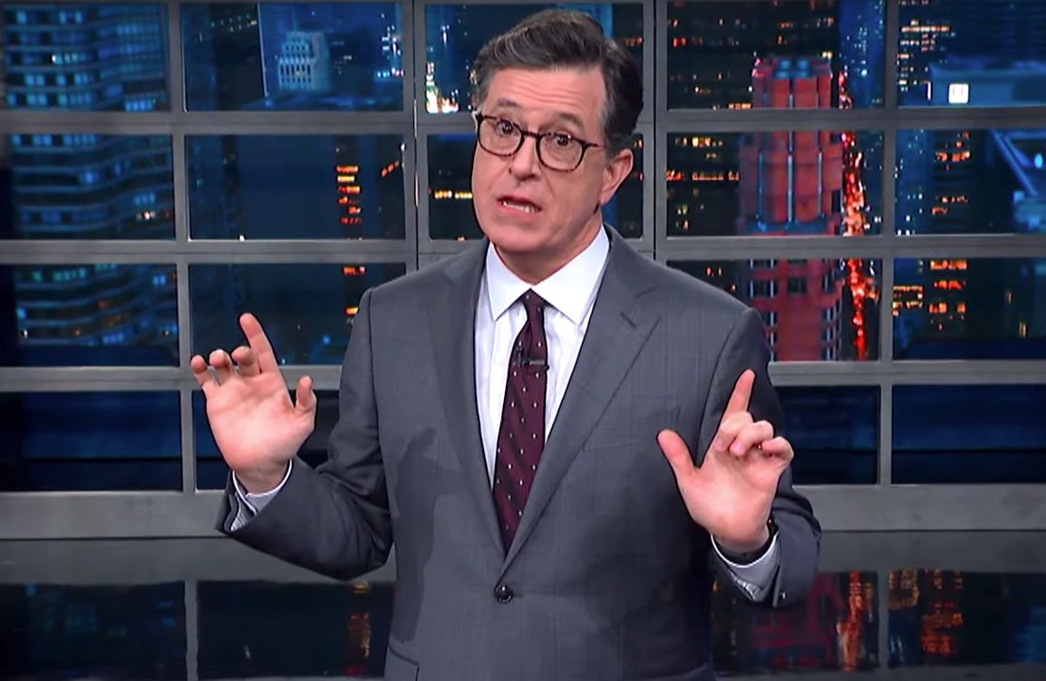 Stephen Colbert Unleashes A Mocking New ...