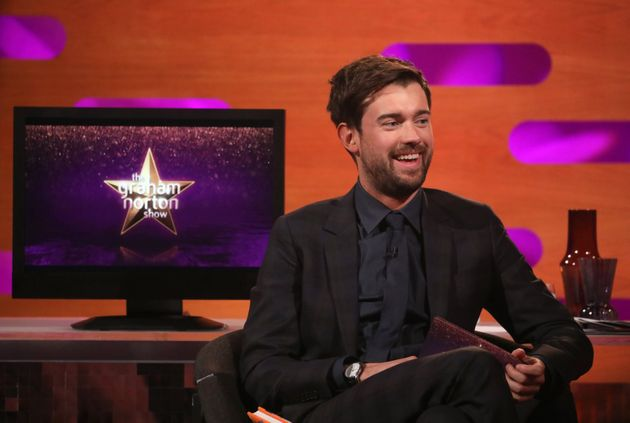 Jack Whitehall was left in charge of The Graham Norton