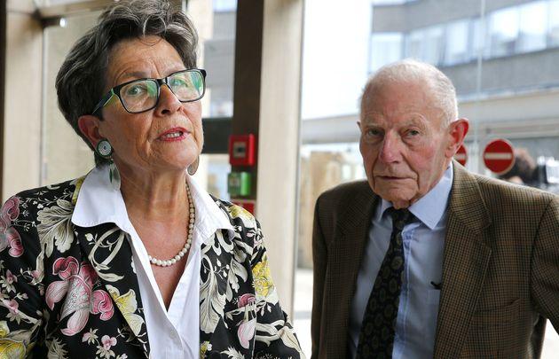 Viviane et Pierre Lambert, les parents de Vincent Lambert, lors d'une audience en 2016 devant la cour...
