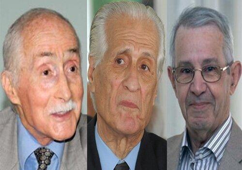 Taleb El Ibrahimi, Ali Yahia et Rachid Benyellles appellent les autorités militaires à l'annulation du scrutin présidentiel e...