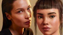Σποτ της Kάλβιν Κλάιν δείχνει την Μπέλα Χαντίντ να φιλά ψηφιακή influencer και κάποιοι