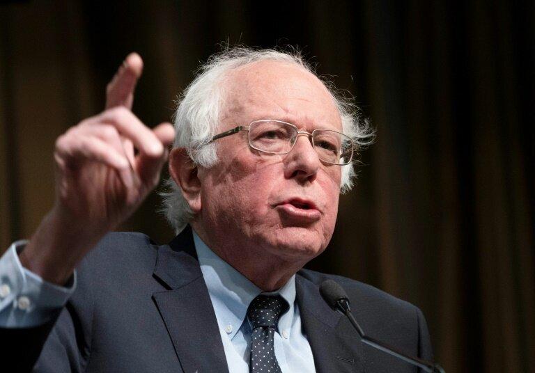 Bernie Sanders, le 5 avril 2019 à New York