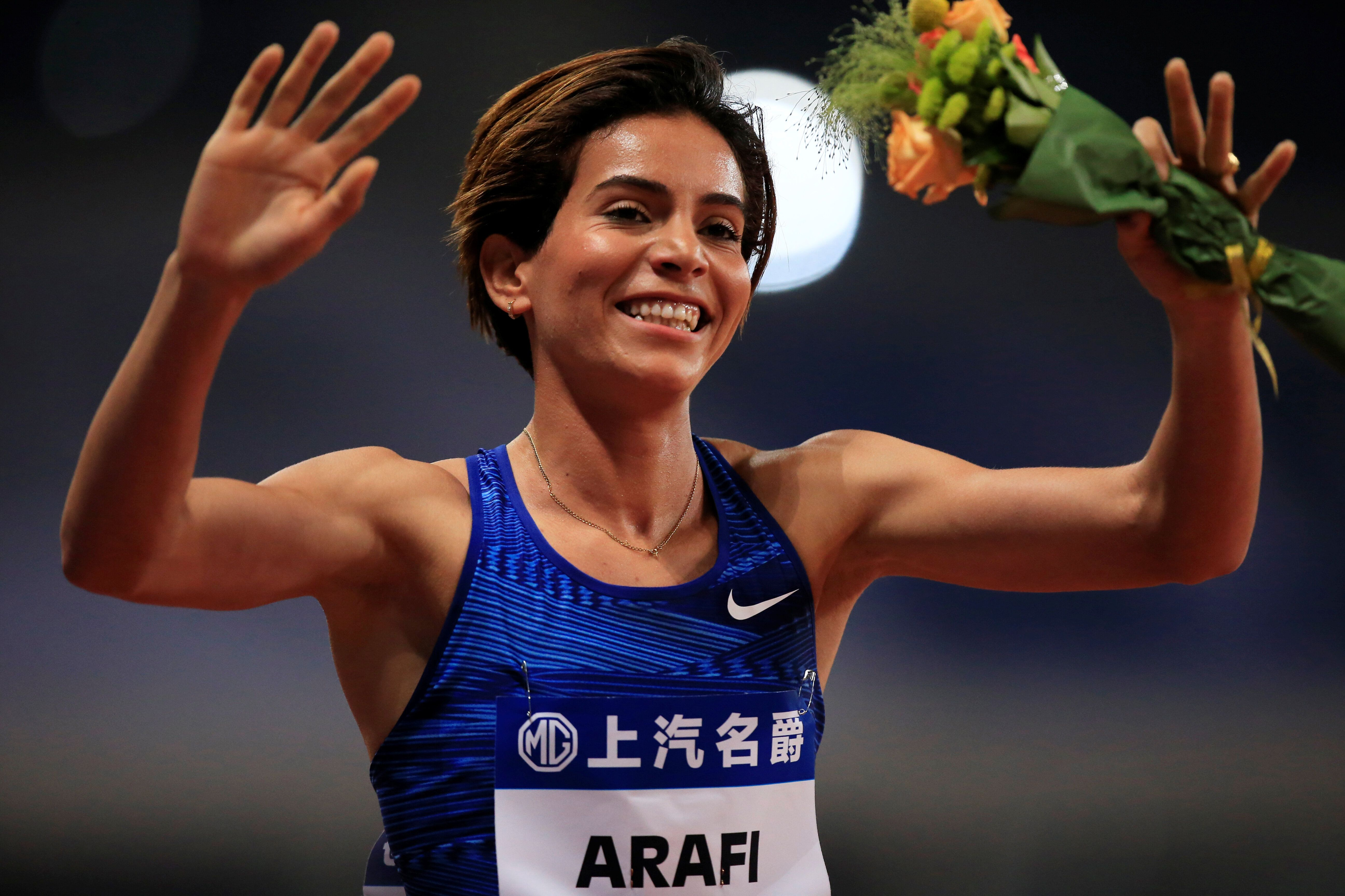 À Shanghaï, Rababe Arafi signe la meilleure performance mondiale de l'année sur 1500 m