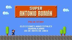 Un candidato del PP se convierte en Super Mario, el mítico personaje de