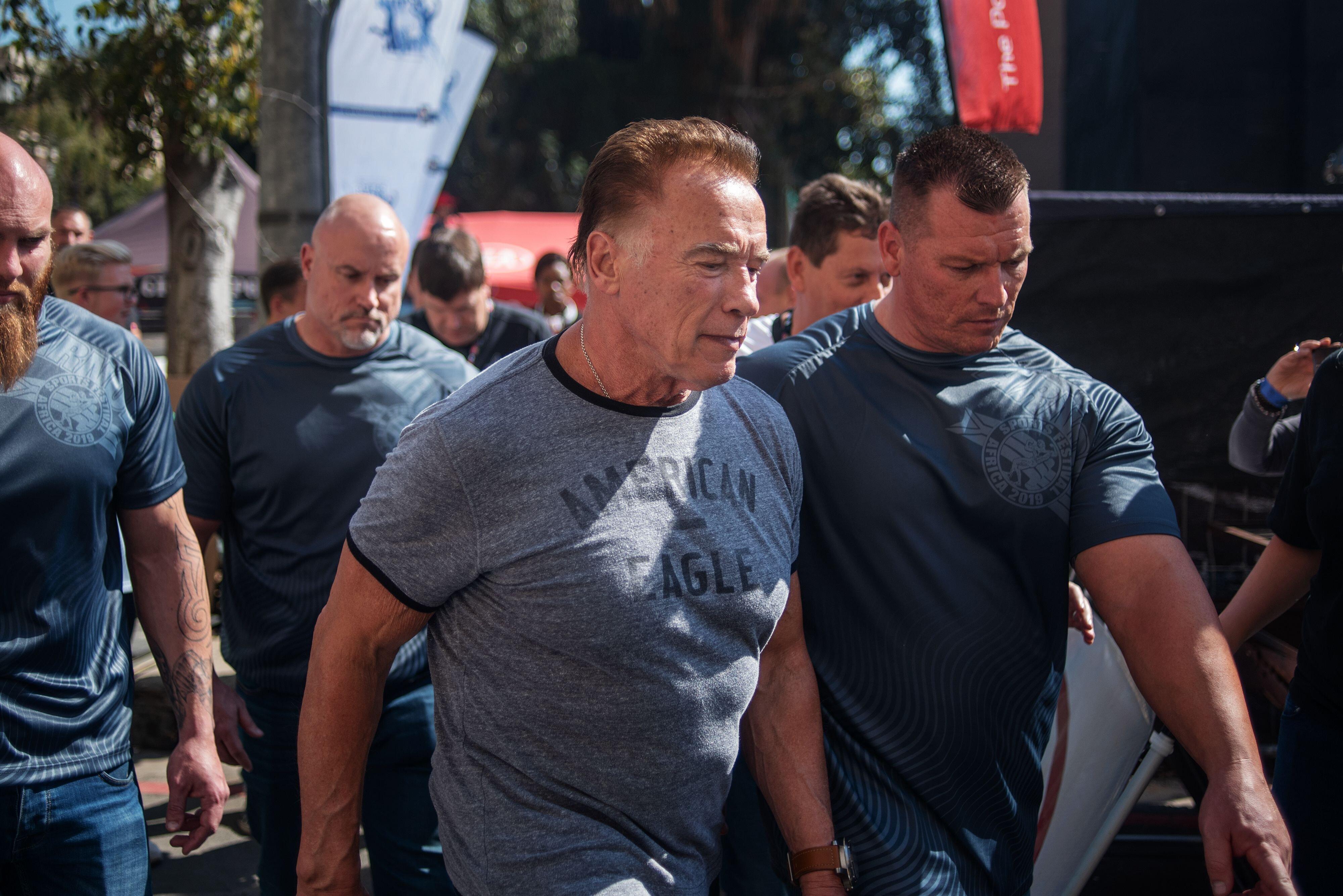 Arnold Schwarzenegger attaqué sauvagement pendant un événement