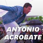 À Cannes, Antonio Banderas a fait le show lors du