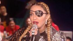 El inspirador mensaje de Madonna en Eurovisión
