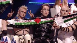 Islandia da la sorpresa con un mensaje de apoyo a Palestina en Eurovision, que se celebra en