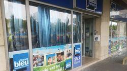 Les vitres des locaux de France Bleu à Reims brisées par des