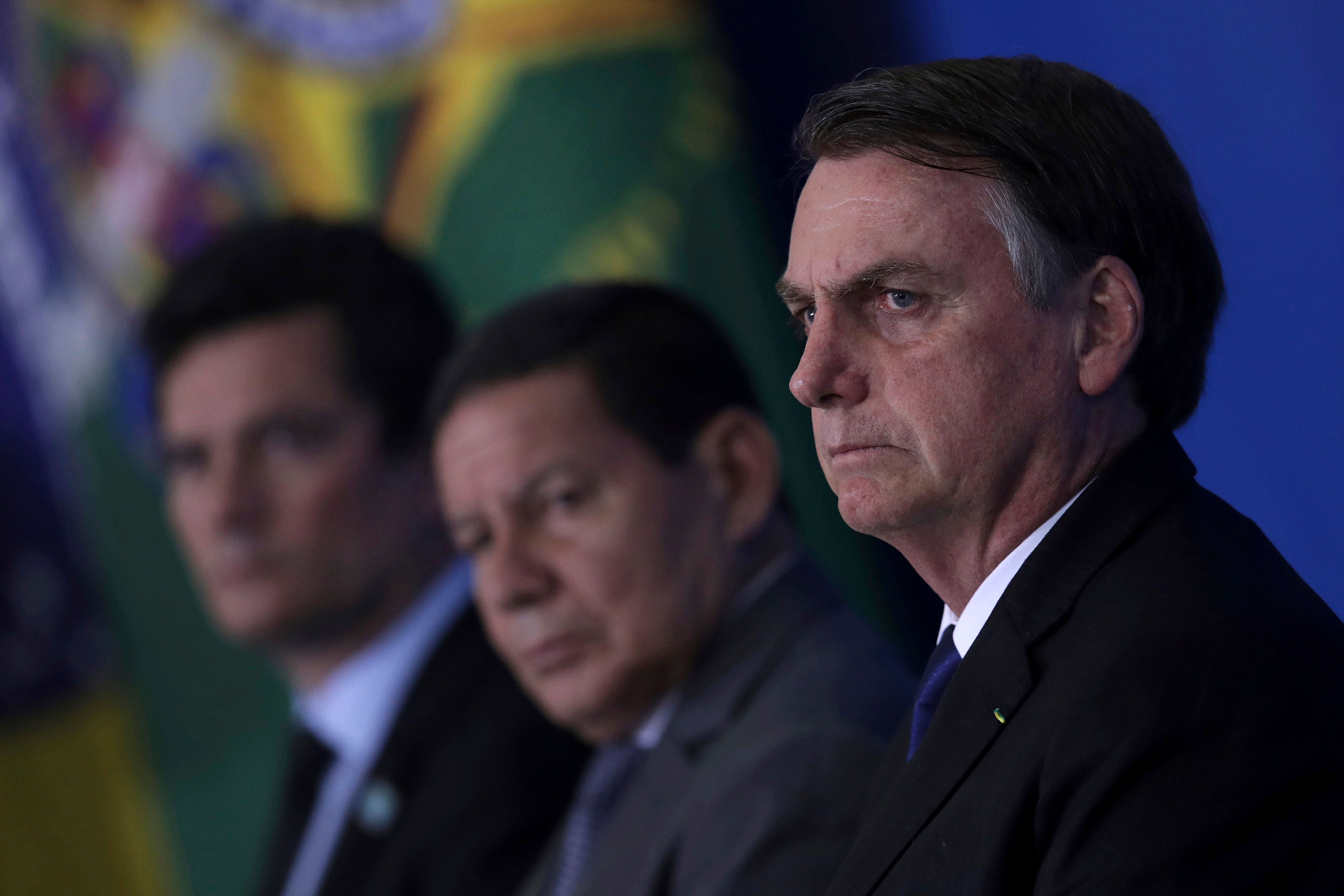 Bolsonaro dá vazão a retórica antidemocrática, diz líder do