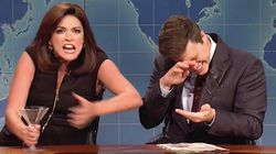 Cecily Strong's Shrill, Drunken Jeanine Pirro Swamps 'Weekend Update' On