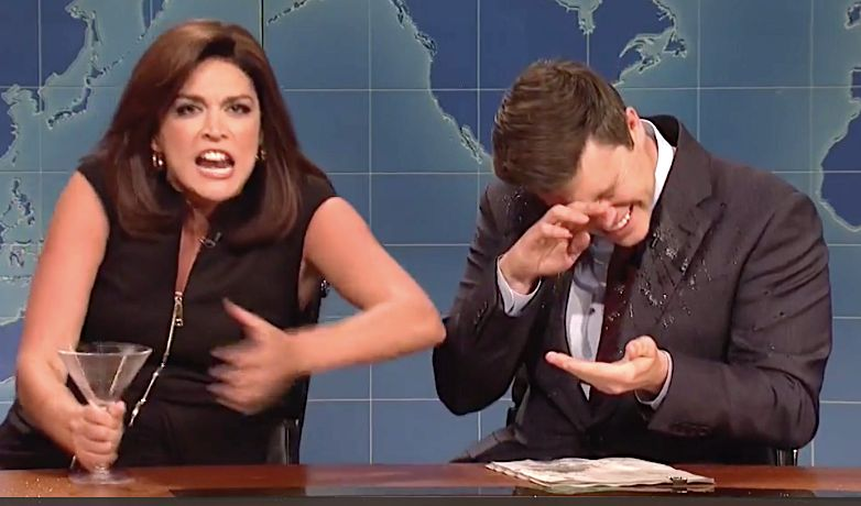 Cecily Strong's Shrill, Drunken Jeanine Pirro Swamps 'Weekend Update'