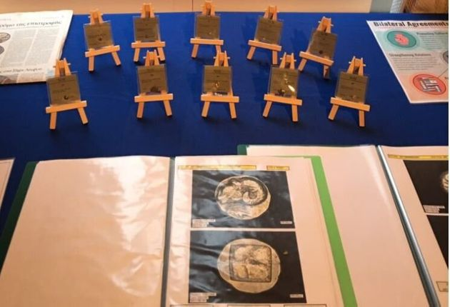 Δέκα αρχαιοελληνικά νομίσματα επιστρέφει στην Αθήνα το Σαν