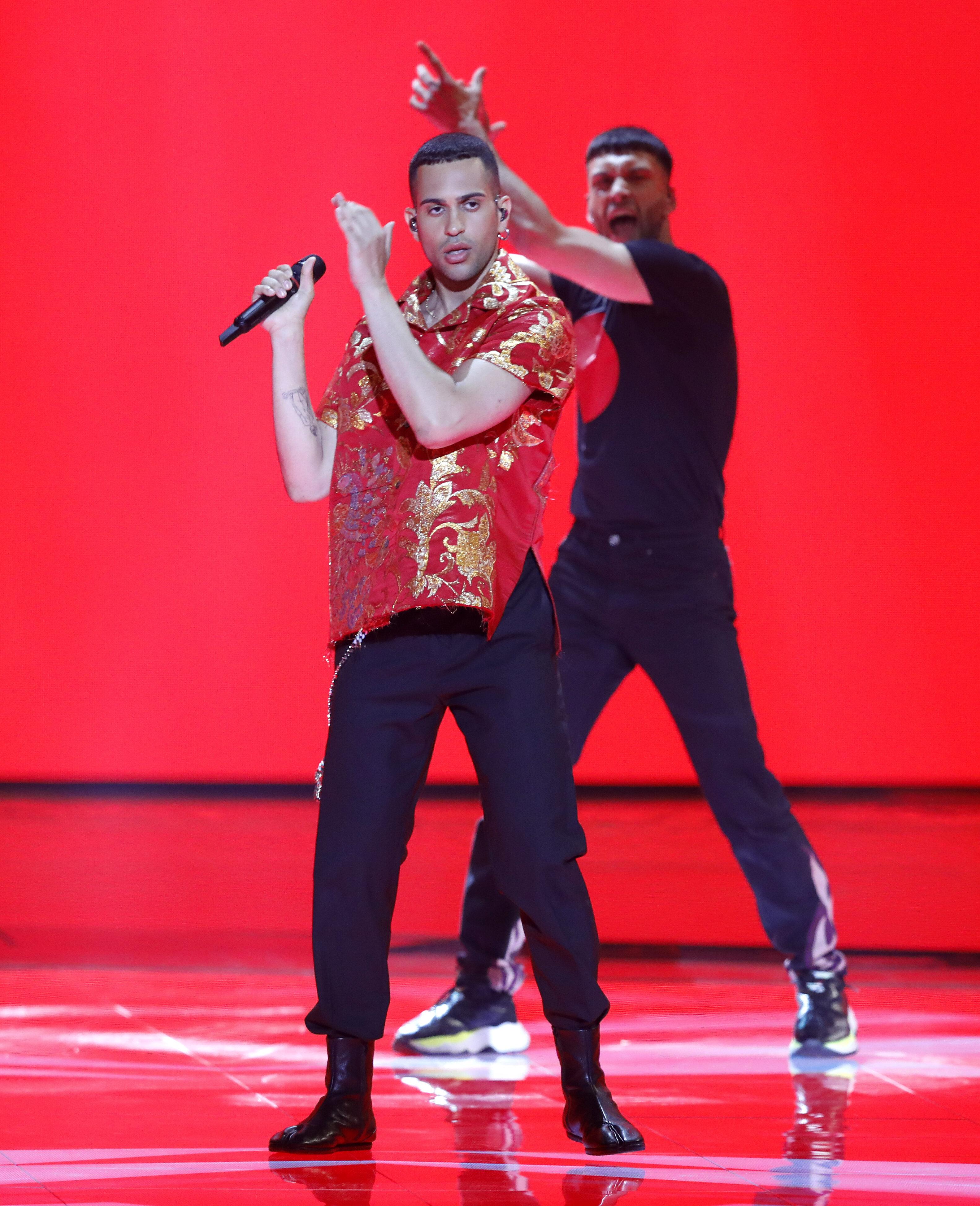 Mahmood sfiora la vittoria all'Eurovision.