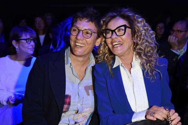 Imma Battaglia e Eva Grimaldi: