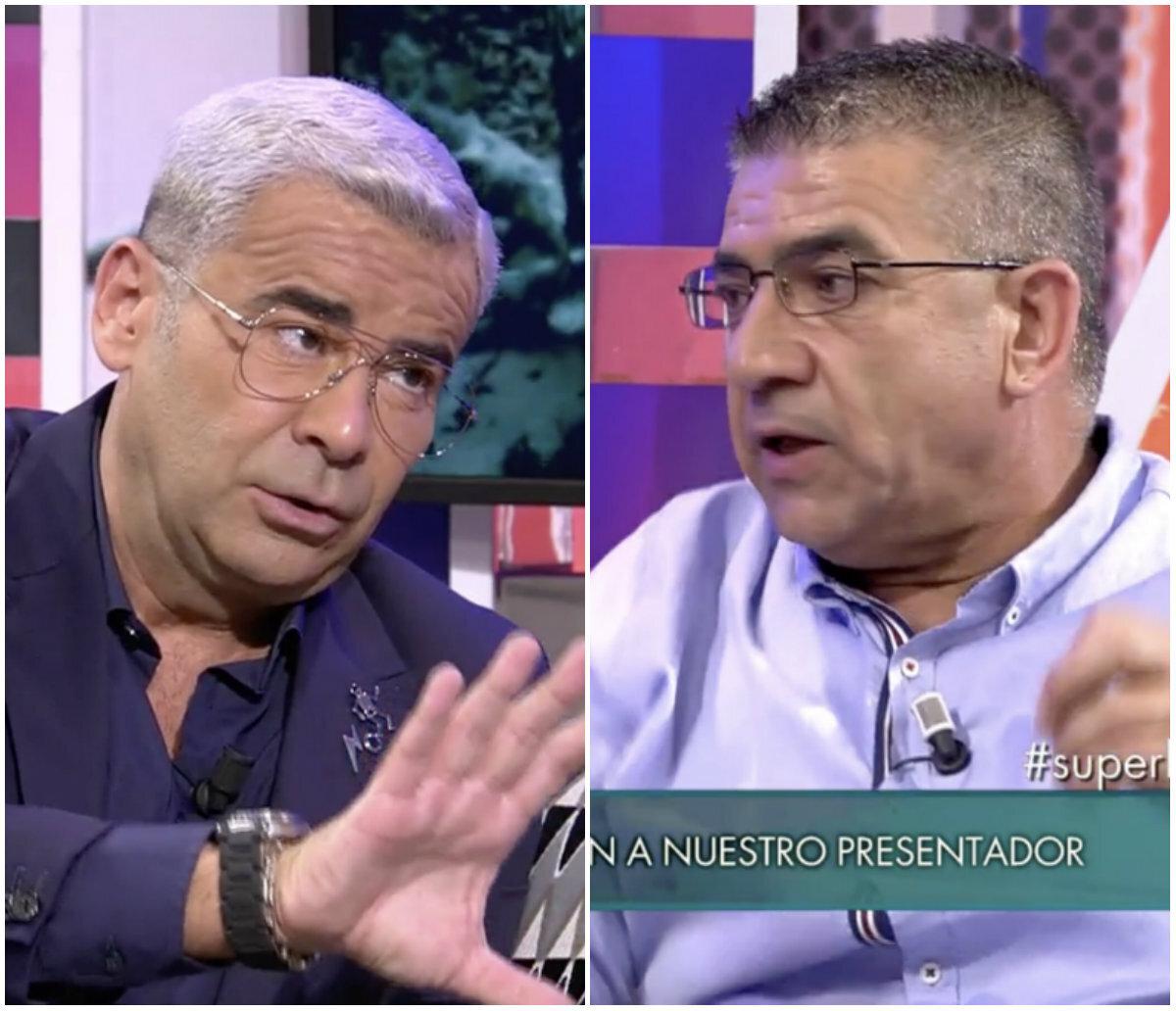 Jorge Javier Vázquez se enfrenta al padre de Dakota ('Supervivientes') en 'Sábado