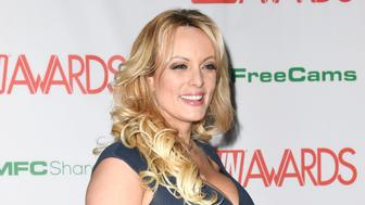 LAS VEGAS, NV - JANUARY 26: Stormy Daniels at the 2019 AVN Awards at Hard Rock Hotel & Casino in Las Vegas, Nevada on January 26, 2019. Credit: Damairs Carter/MediaPunch /IPX