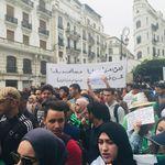 Marche des étudiants à Alger à l'occasion de la Journée Nationale de