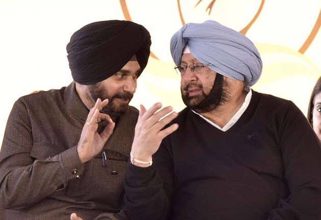 Navjot Singh Sidhu Harming Congress With Irresponsible Actions Just Before Polls: Amarinder