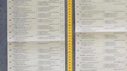 En Allemagne, le bulletin de vote pour les européennes mesure près d'1