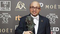 Jesús Vidal, actor de 'Campeones', participa en un acto de este partido político: