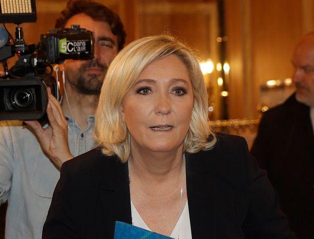 Marine Le Pen à Milan le 18 mai