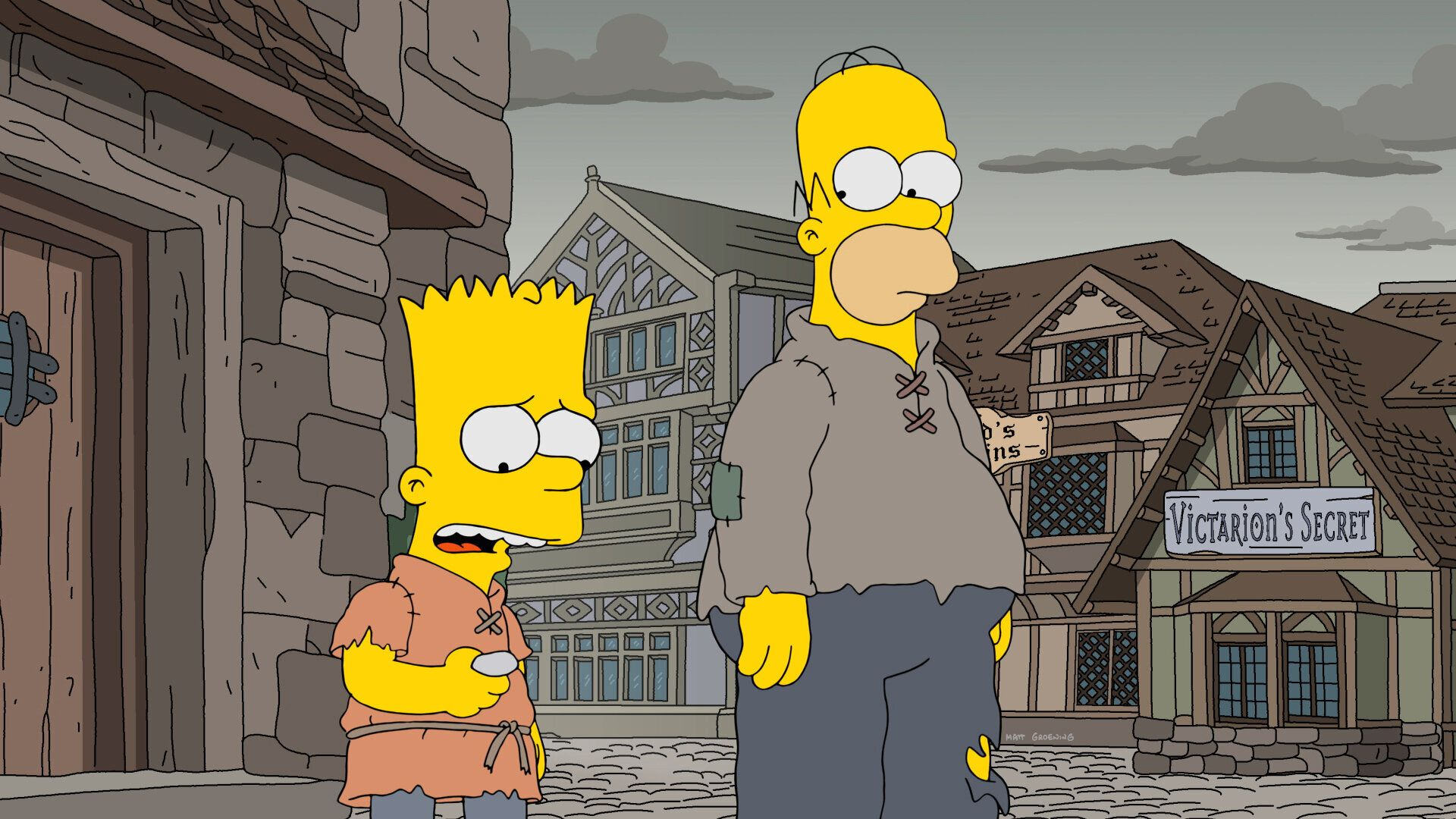 'The Simpsons' Predicted That Terrifying 'Game Of Thrones'