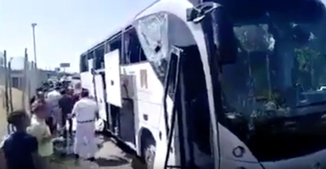 Atentado en Egipto: Al menos 12 heridos en la explosión de un autobús