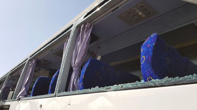 Έκρηξη σε τουριστικό λεωφορείο στην περιοχή των Πυραμίδων στην