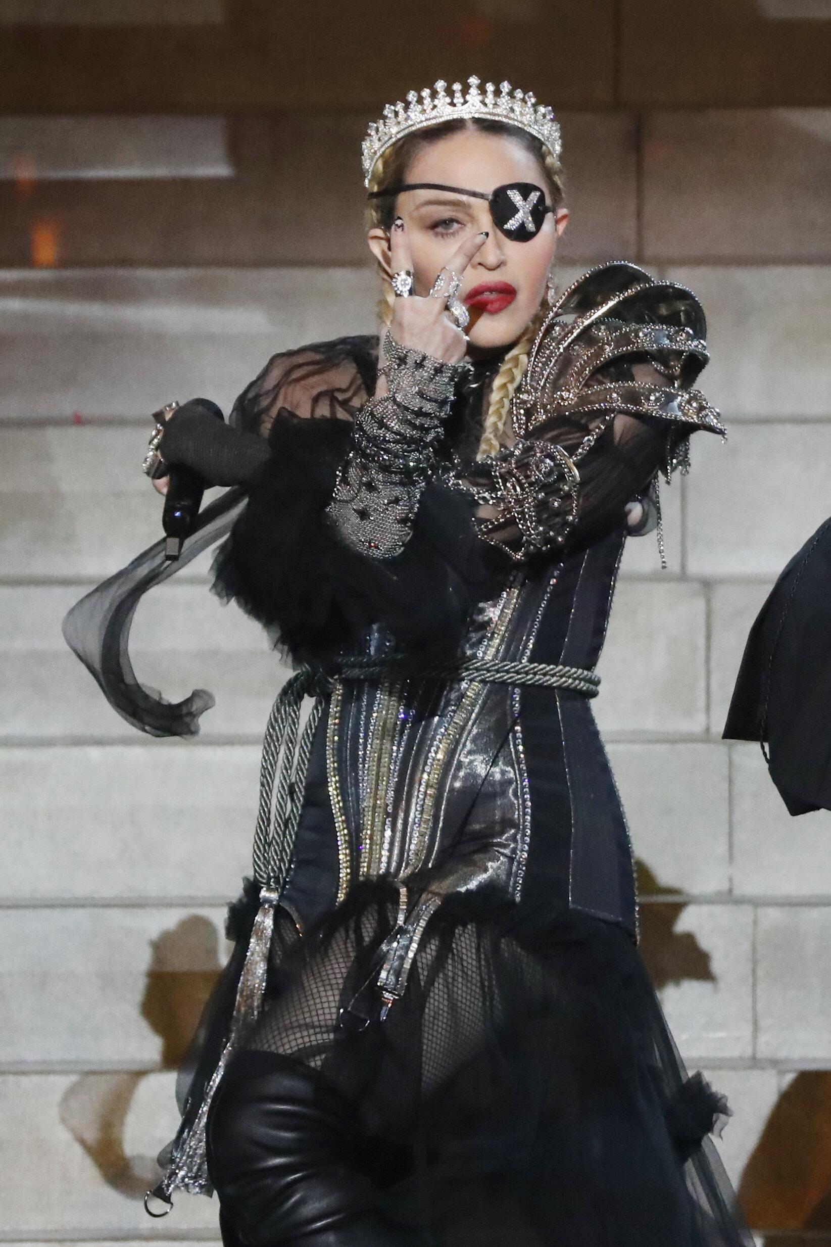 Madonna et ses fausses notes n'ont pas convaincu à