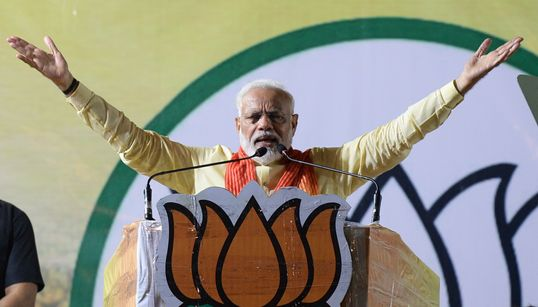 Exit Poll Results Give Clear Majority To Narendra Modi-Led