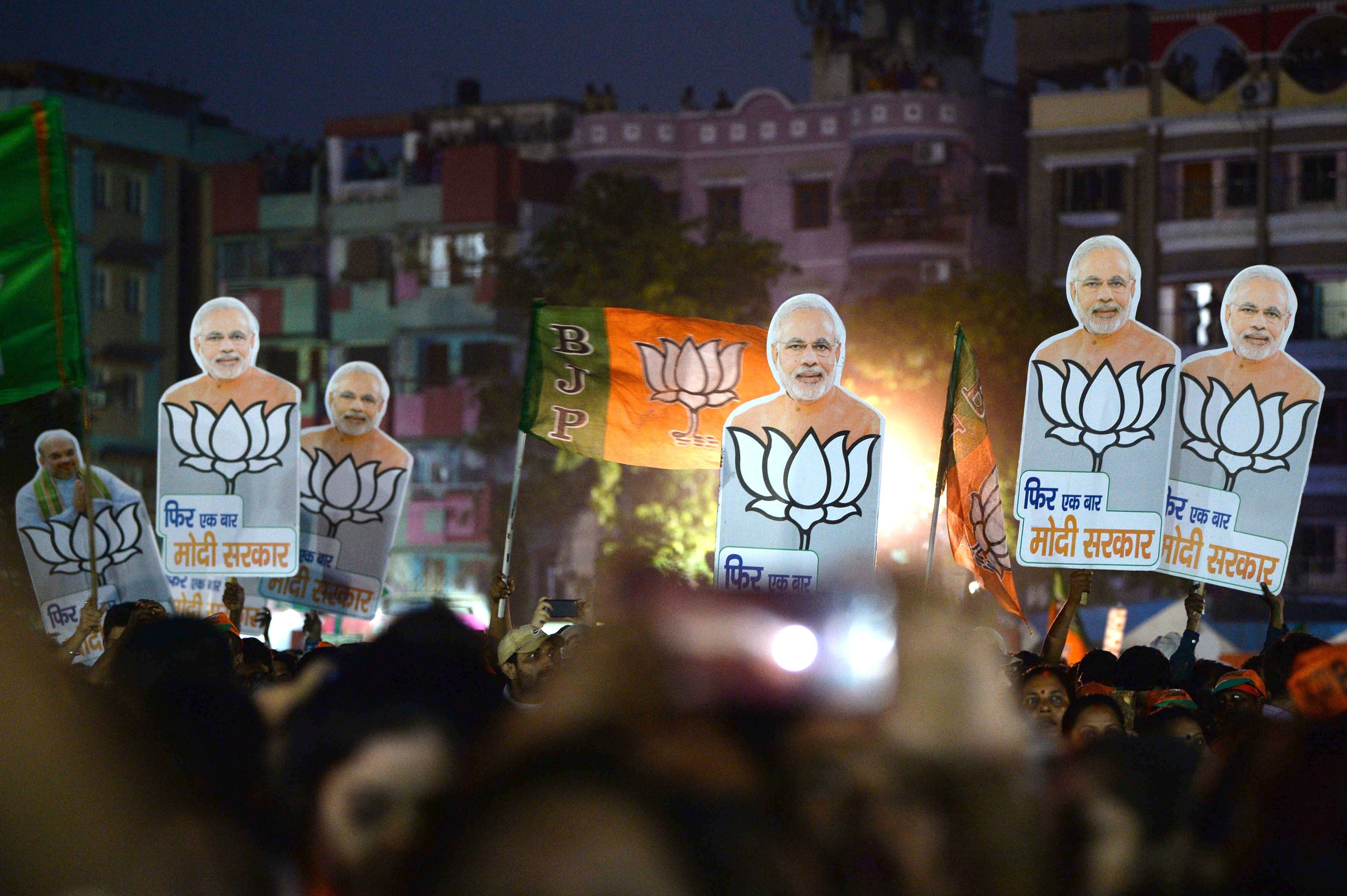 Exit Poll Results Predicting A BJP Sweep May Be