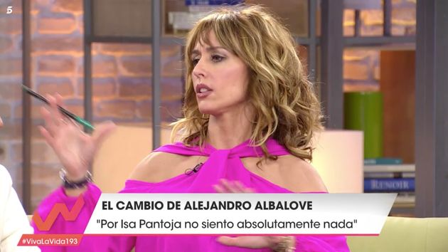 Emma García regaña a un colaborador de 'Viva la vida' por un comentario