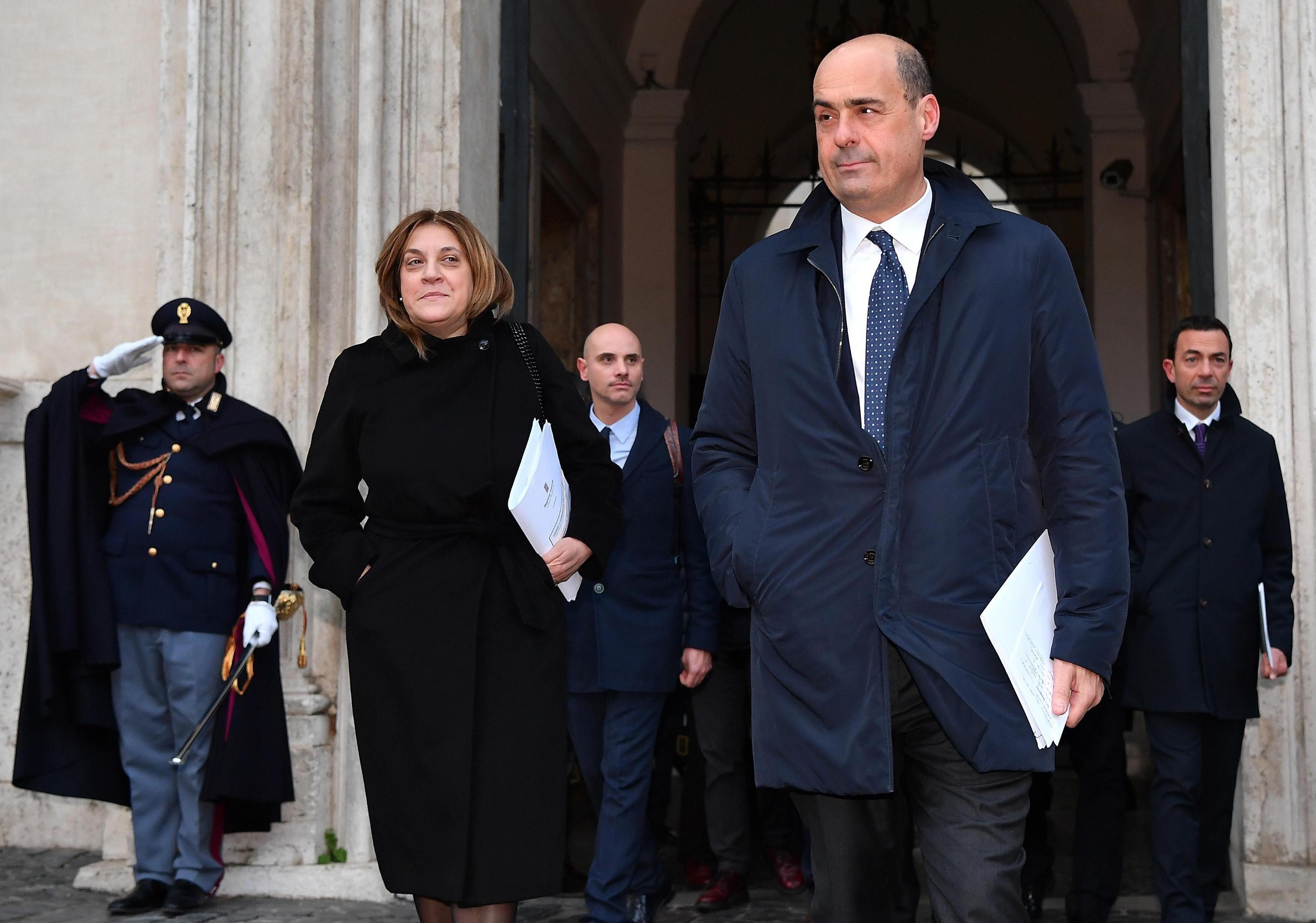 """""""Catiuscia Marini deve lasciare"""". Zingaretti prova"""