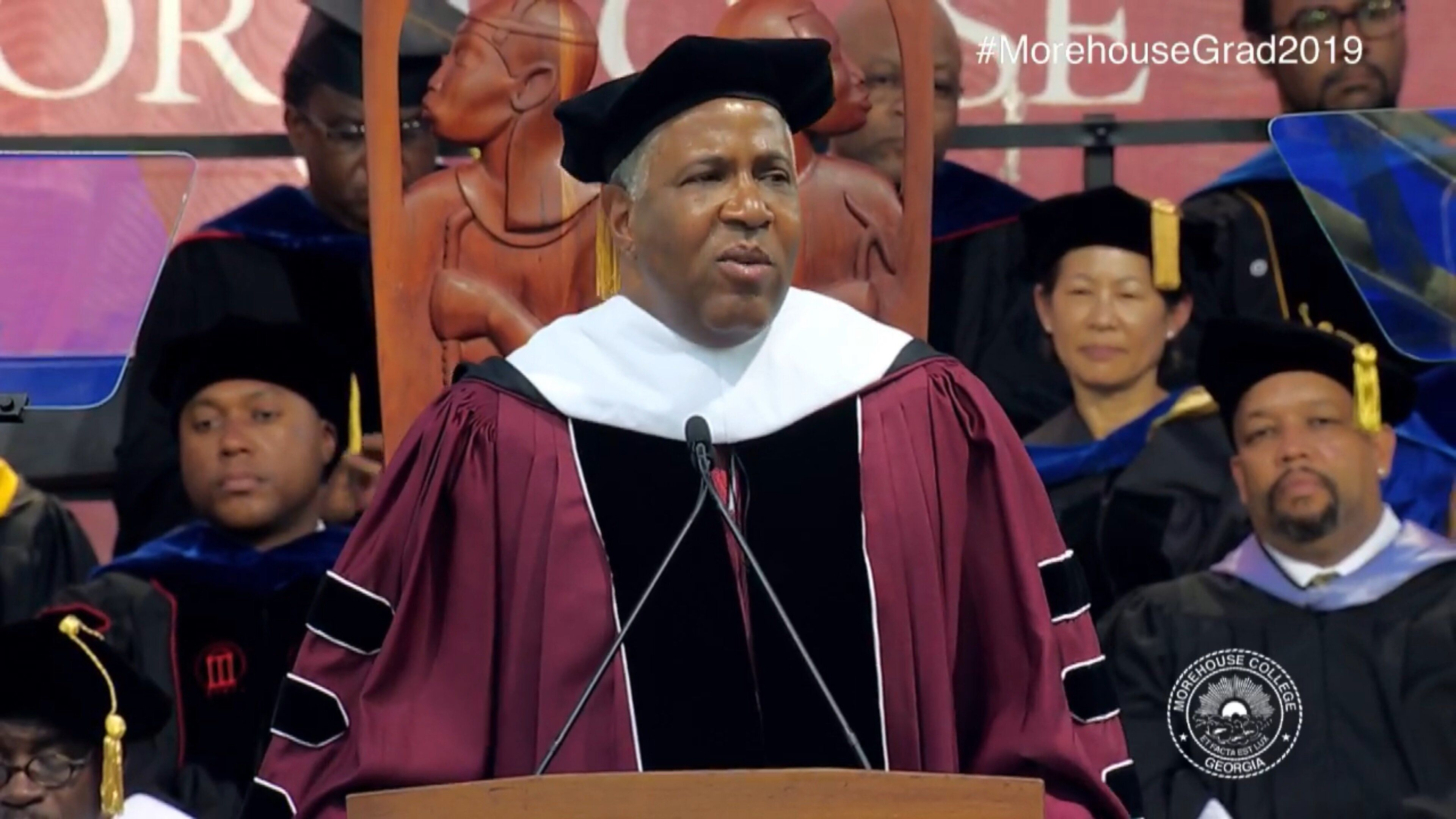 Billionaire Philanthropist Vows To Pay Off Morehouse ...
