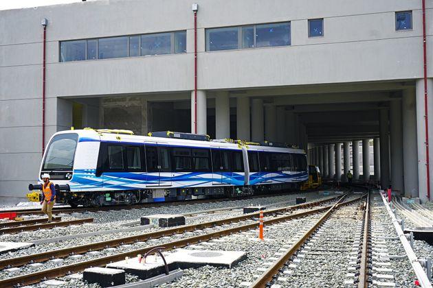 Τα βαγόνια του μετρό στη Θεσσαλονίκη απέκτησαν κιόλας τα πρώτα τους
